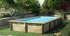 prix installation piscine bois semi enterrée tarif piscine hors sol bois prix piscine semi enterr 233 e