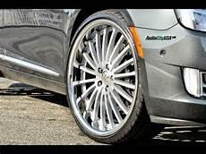 cadillac xts 20 r four lexani black series wheels doovi