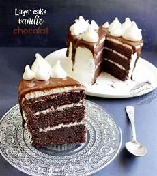 Layer Cake Vanille Chocolat Facile Il 233 Tait Une Fois La