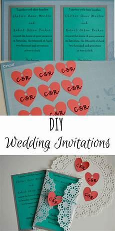 diy wedding invitations with cricut tastefully frugal