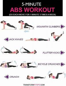 best quick 5 minute flat abs workout beesdiy com