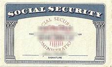 make a social security card template make novelty social security card driver license or