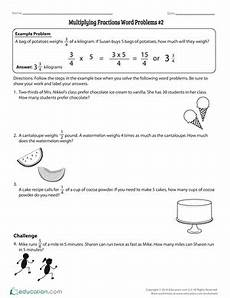 4th grade fractions worksheets free printables education com