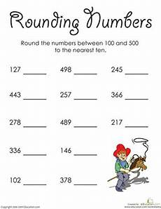 place value and rounding numbers worksheet 5625 rounding whole numbers in the hundreds worksheet education