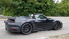 Porsche 911 Turbo Convertible Hits The Pavement