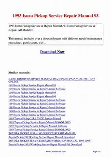 how to download repair manuals 2008 isuzu i 370 user handbook 1993 isuzu pickup service repair manual 93 pdf by linda pong issuu
