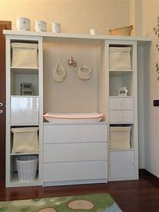Nursery Changing Table Malm Expedit And Accessories
