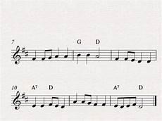 free easy violin sheet music for beginners go tell rhody youtube