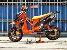 X Ride Modif Supermoto by Doctor Matic Klinik Spesialis Motor Matic Yamaha X Ride