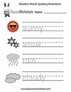 different weather worksheets 14532 preschoolers will practice writing words that describe different weather conditions snow