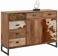 sideboard 130 cm home affaire sideboard 187 naresh 171 breite 130 cm otto