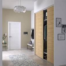 porte coulissante placard porte de placard coulissante spaceo l 66 x h 250 cm