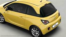 opel adam 2013 dimensions boot space and interior
