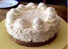 raffaello torte ohne backen no bake raffaello cheesecake