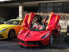 laferrari already hits the used car market