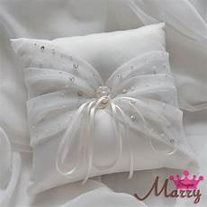 wedding ring pillow 21cm satin ring cushion handmade cheap ring bearer pillows for day