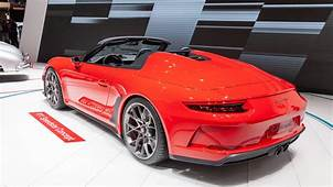 New Porsche 911 Speedster Enters Production In 2019