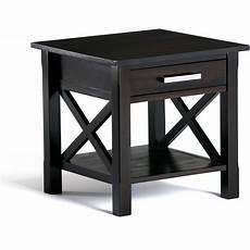 Home Furniture Kitchener Simpli Home Kitchener End Side Table Walmart