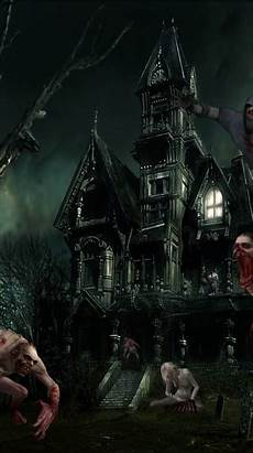 Haunted House Phone Wallpaper Hd