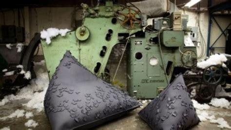 Butterfly Chair, La Poltrona Sacco In Feltro Di Bev Hisey