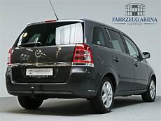 opel zafira b design edition 7 sitzer gebrauchtwagen