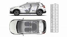 dimensions 3008 suv new peugeot 2008 suv technical information
