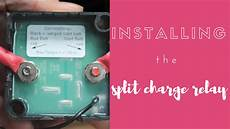 pamthevan how to install a split charge relay durite