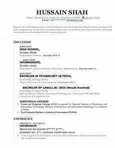 sle cv for fresh law graduate with engineering degree