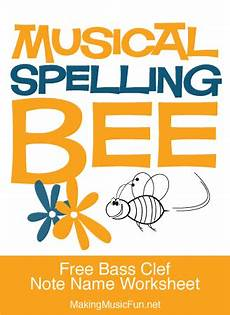 note spelling worksheets 22477 musical spelling bee free bass clef note name worksheet digital print learn bass clef note