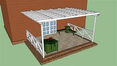 plans for pergola attached to house pergola plans free howtospecialist how to build step
