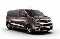 Neues Kleintransporter Trio Toyota Proace Citroen