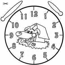 Uhr Malvorlagen Zum Ausdrucken Kostenlose Malvorlage Uhrzeit Lernen Ausmalbild Fina Zum