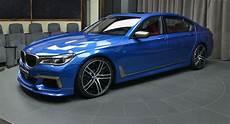 Estoril Blue Bmw M760li Xdrive Exudes Effortless Performance