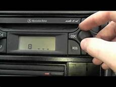 how to unlock your car stereo mercedes audio 10 stereo