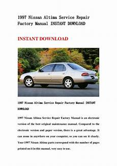 car maintenance manuals 1997 nissan altima electronic valve 1997 nissan altima service repair factory manual instant download