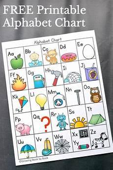 6 ways to use an alphabet chart reading activities preschool literacy alphabet charts