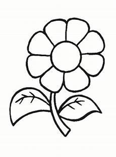Ausmalbilder Blumen Einfach Ausmalbilder Blumen Malvorlagen 01 Malvorlagen