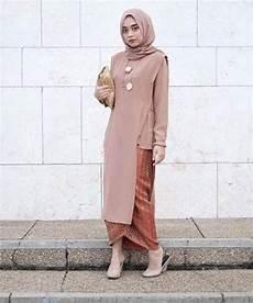 Model Kebaya Wisuda Modern Simple Busana Muslim Renda
