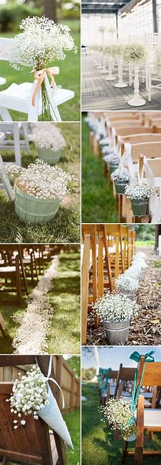 save your budget weddings with 45 baby s breath ideas