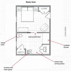 ada compliant house plans we can add an master suite designed to ada standards to