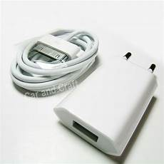 genuine apple iphone 4 4s 4gs eu charger adapter usb cable