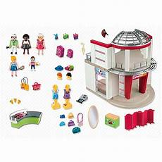 Playmobil Ausmalbilder Shopping Center Playmobil Set 5499 Shopping Center Klickypedia