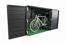 fahrradbox aluminium fahrradgarage aus metall
