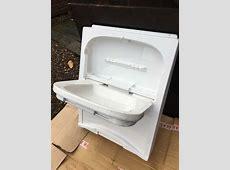 cleo tip up sink unit motorhome camper van caravan new old