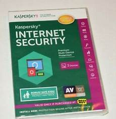 new sealed 2015 kaspersky security for 3 devices