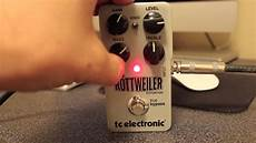 tc electronic rottweiler tc electronic rottweiler distortion demo by robert baker tone demos