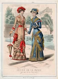 gravure de mode 1870 1880 15 costumes de