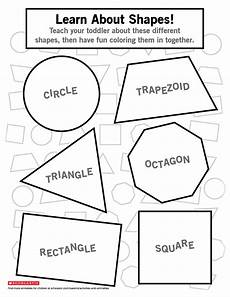 identify different shapes worksheets printables scholastic parents