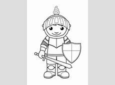Ridder kleurplaat: 35 kleurplaten van ridders, musketiers