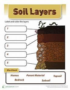 soil worksheets for 3rd grade soil layers worksheet education com